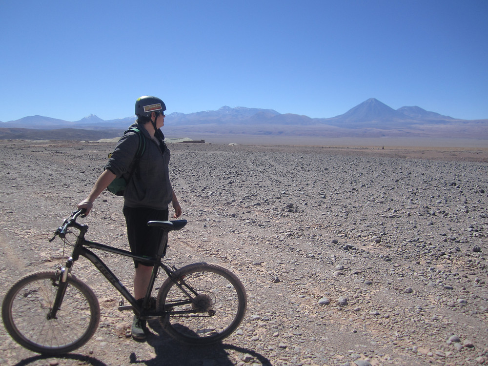 cycling chile atacama desert