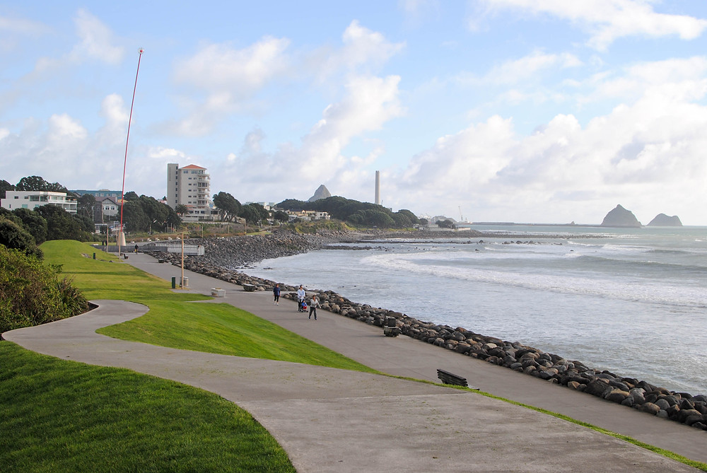 new plymouth foreshore