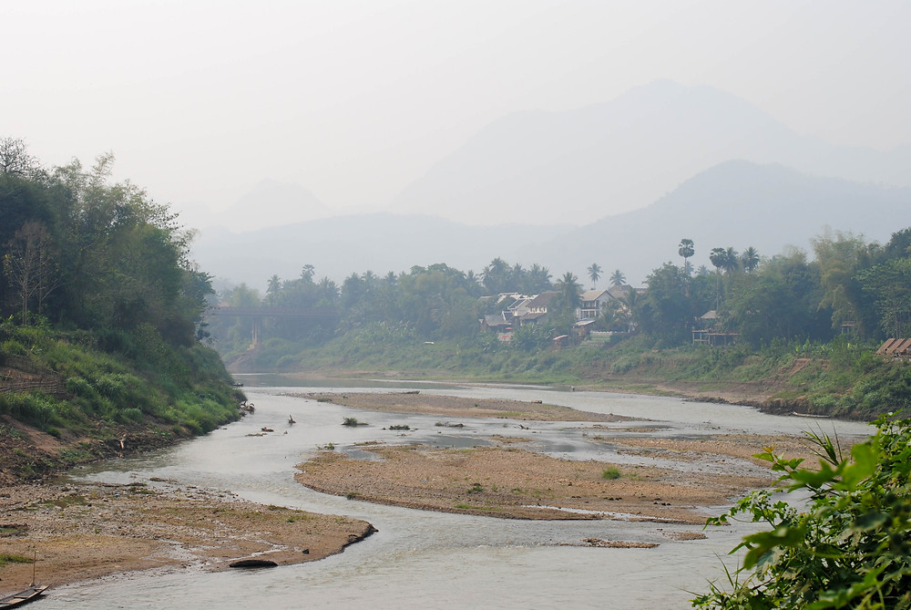 vang vieng river laos