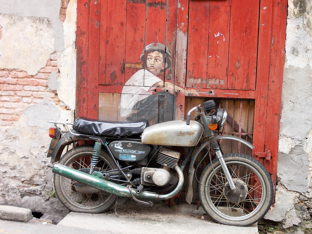 st art motorbike georgetown malaysia