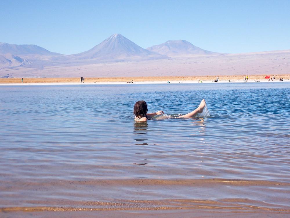 salt lake atacama desert