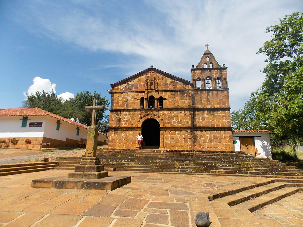 church barichara colombia