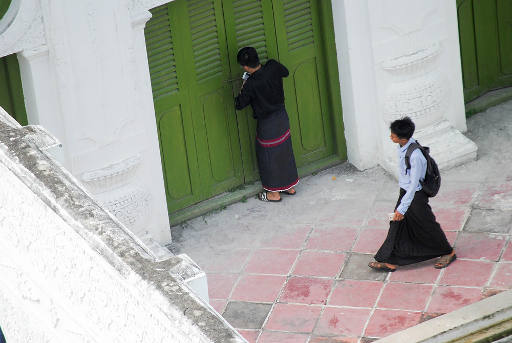 green door myanmar