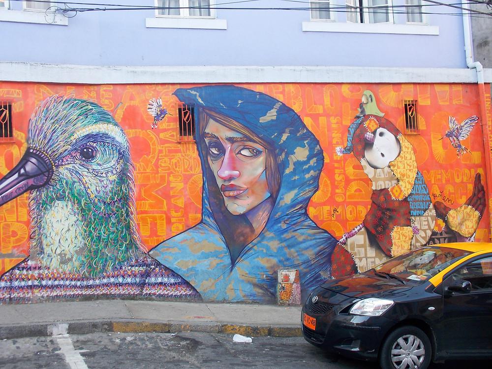 street art valpariso