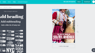 How to create eye-catching travel pins with Canva