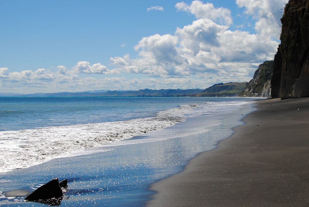 whitecliff beach