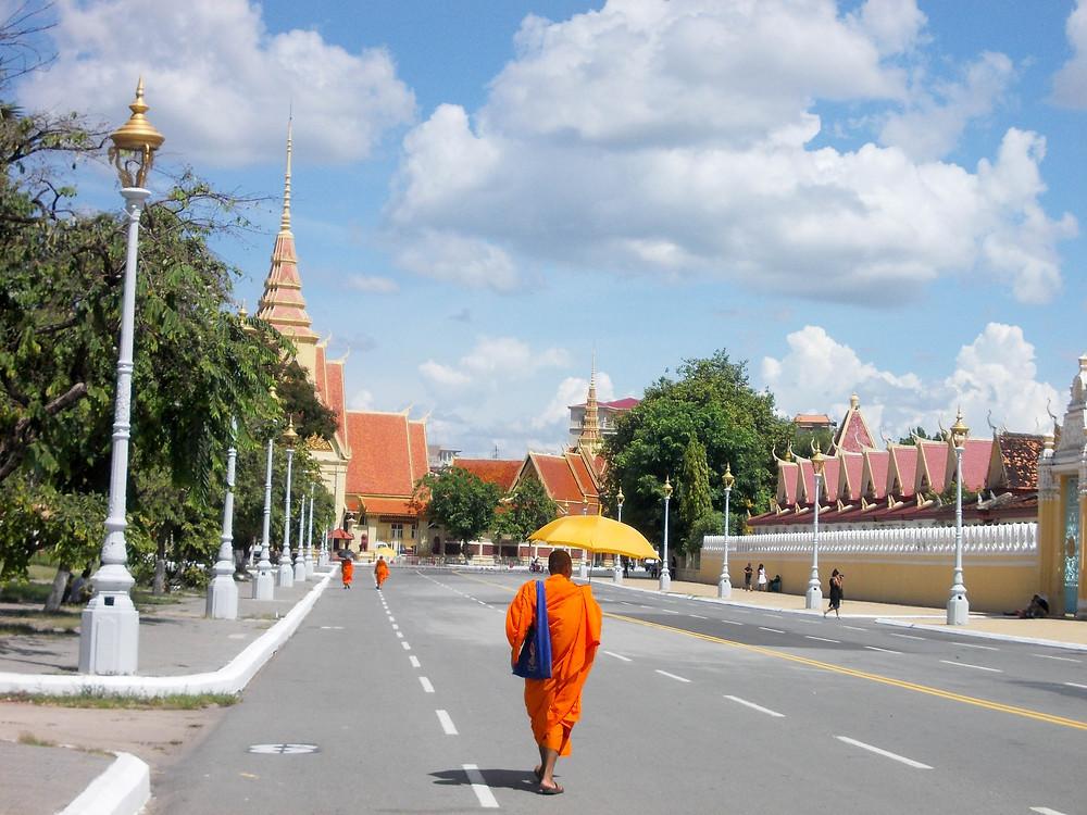 monk street cambodia