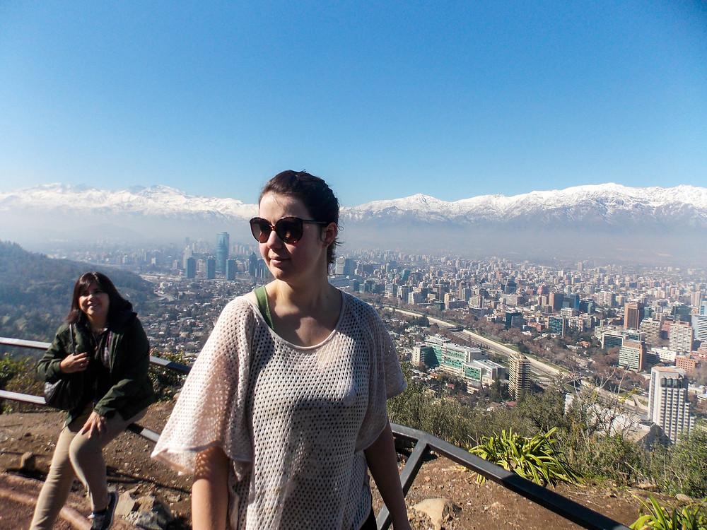 mountains chile santiago