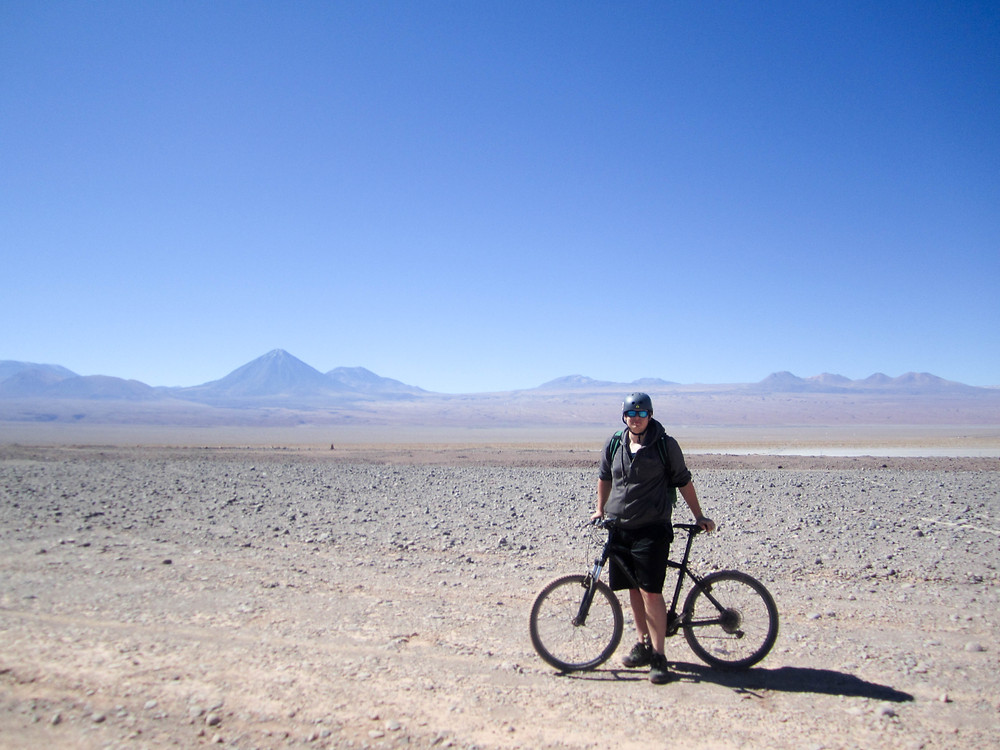 bicycle atacama desert