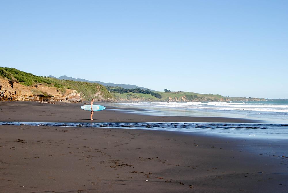 back beach taranaki