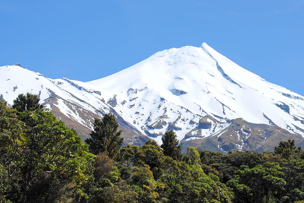 mt taranaki up close