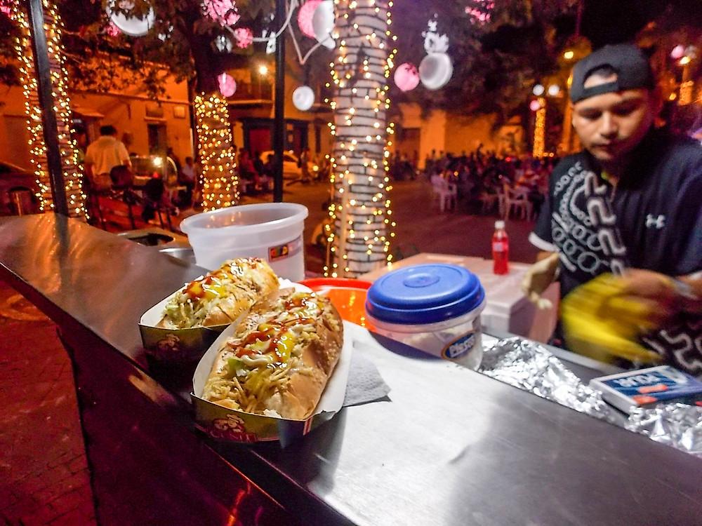 Hotdog Cartagena Colombia