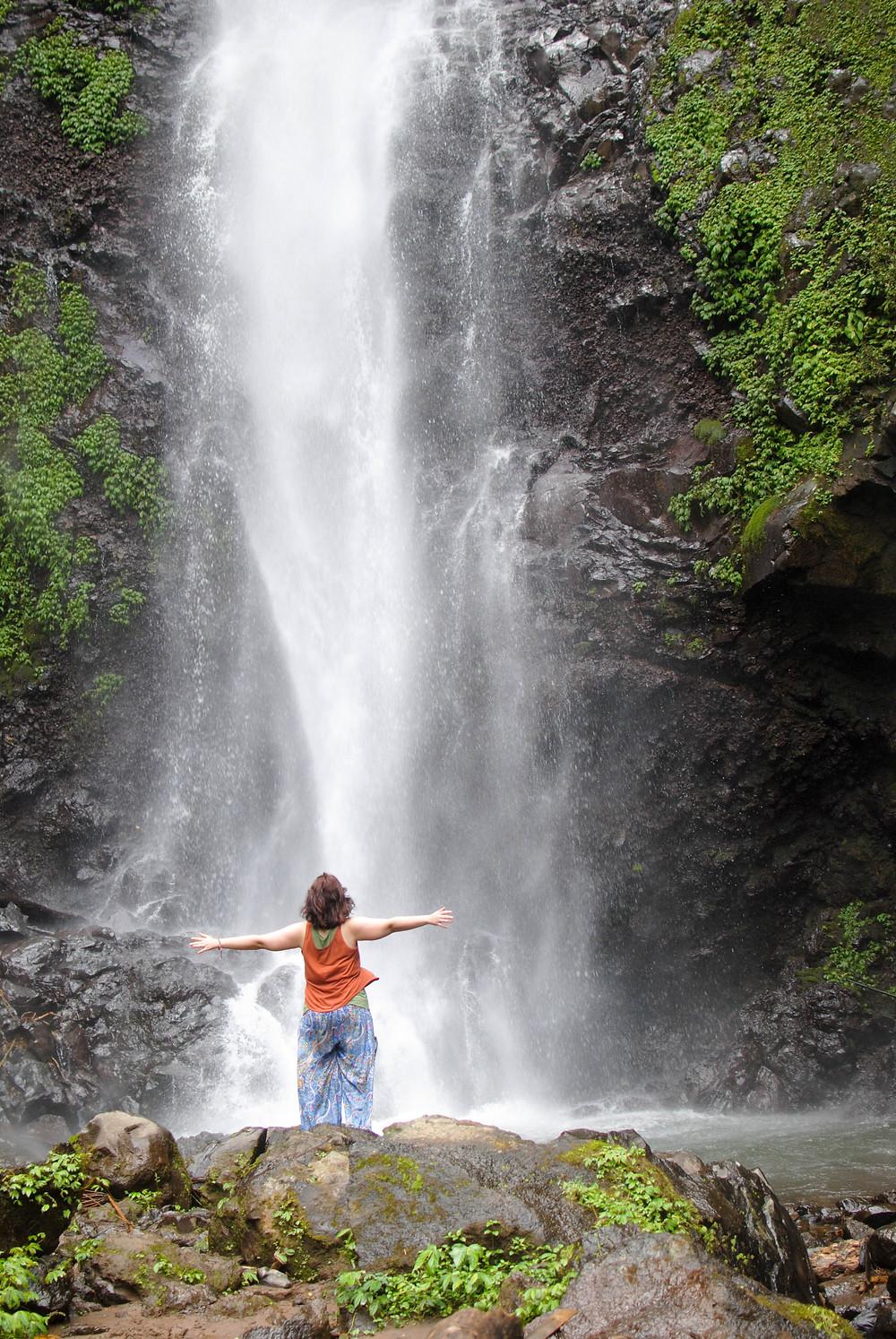melanting waterfalls