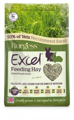 Feeding Hay Air Dried Grass 1kg