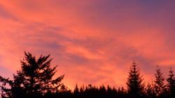 Highland Sunset skies