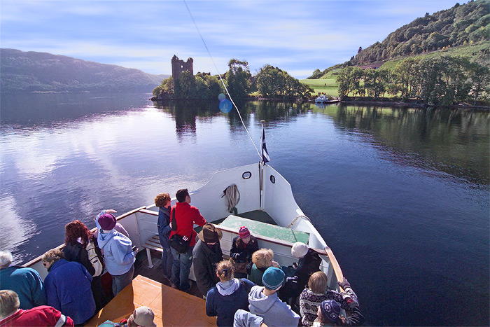 Take a boat trip on the Loch