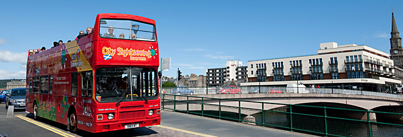 Inverness City Sightseeing bus tour