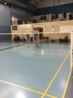 Compétition départementale de Badminton à Béthune