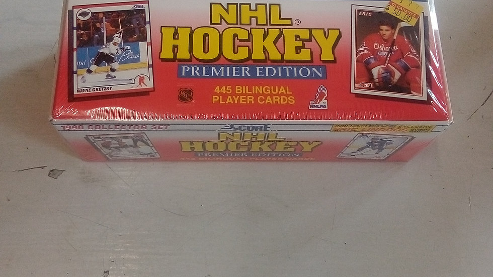 NHL 1990 Collector Set Hockey Cards