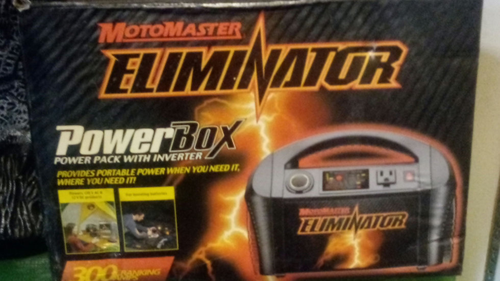 New Motomaster Eliminator Powerbox