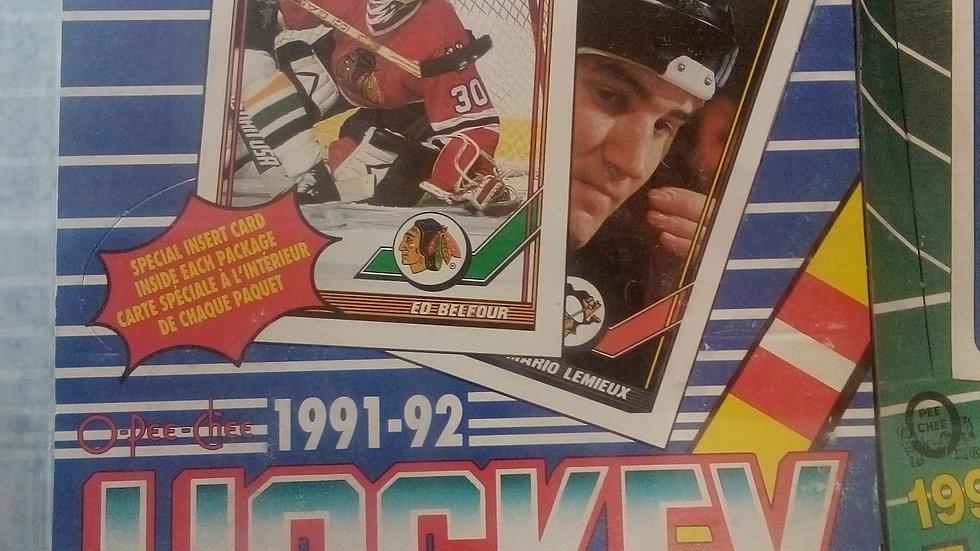 New 91-92 Hockey Cards (whole box)