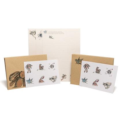 little rabbit letter writing set