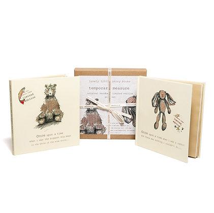 boxed gift set - little rabbit & biggest big bear books