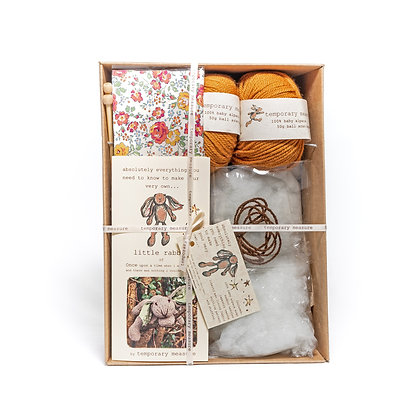 little rabbit knitting kit