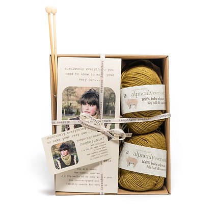 neckerchief knitting kit