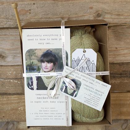 neckerchief knitting kit