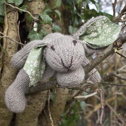 hand knitted little rabbit