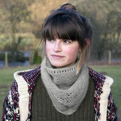 hand knitted neckerchief
