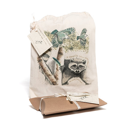 tricksy racoon project bag in a box