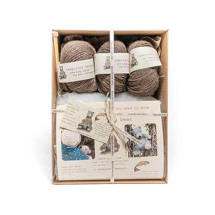 biggest big bear knitting kit