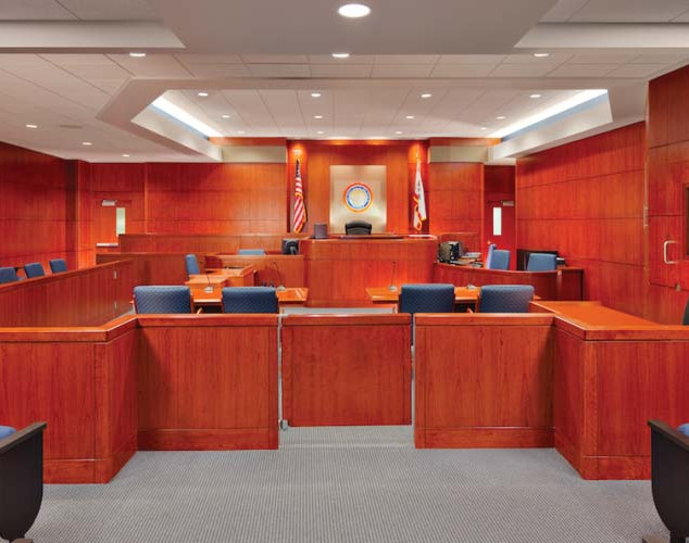 NEW JUDGESHIP COURTROOM