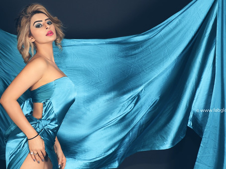 The jaw-dropping high-fashion shoot with Ankita dave