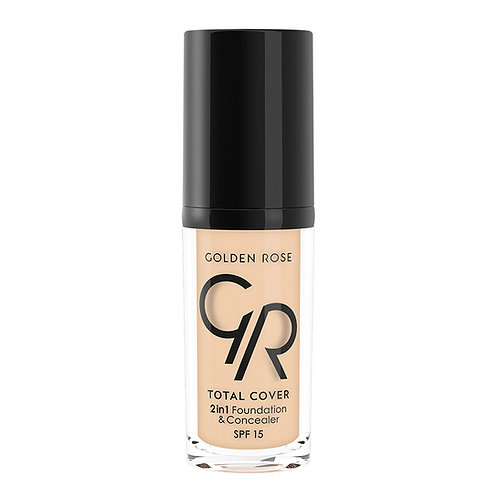 TOTAL COVER 2in1 FOUNDATION & CONCEALER Nº011-NUDE