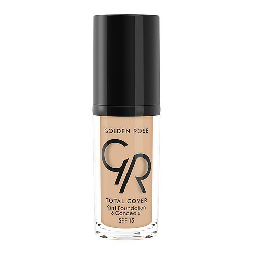 TOTAL COVER 2in1 FOUNDATION & CONCEALER Nº005-COOL SAND