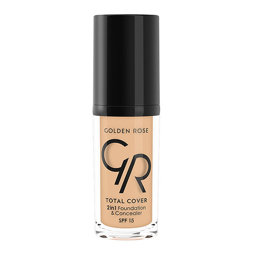 TOTAL COVER 2in1 FOUNDATION & CONCEALER Nº003-ALMOND