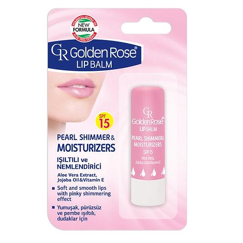 GR Lip Balm Pearl Shimmer & Moisturizers Spf 15