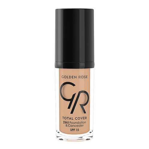 TOTAL COVER 2in1 FOUNDATION & CONCEALER Nº015 WARM SAND