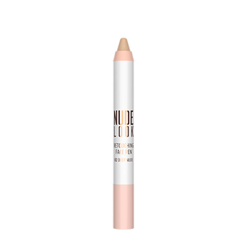 RETOUCHING FACE PEN Nº 02  DEEP NUDE