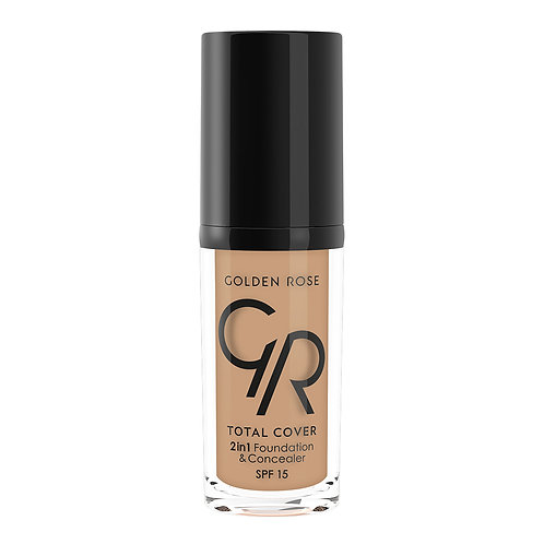 TOTAL COVER 2in1 FOUNDATION & CONCEALER Nº018-CAPPUCCINO