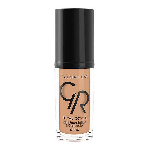 TOTAL COVER 2in1 FOUNDATION & CONCEALER Nº016 WARM HONEY