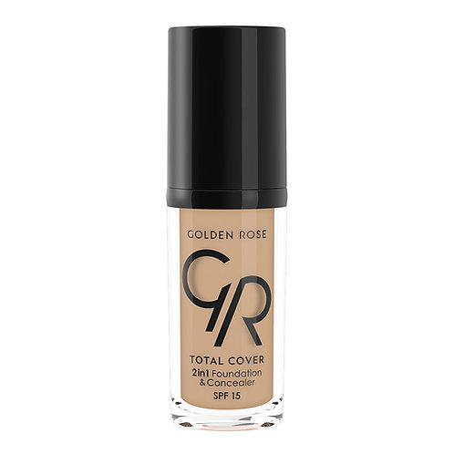 TOTAL COVER 2in1 FOUNDATION &CONCEALER Nº006-TAUPE