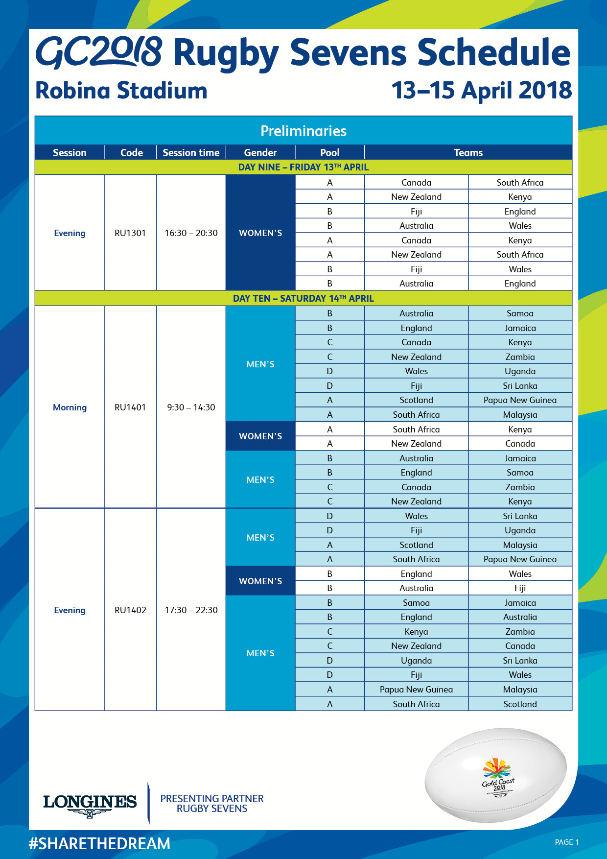 Rugby 7s Schedule A4 page 2