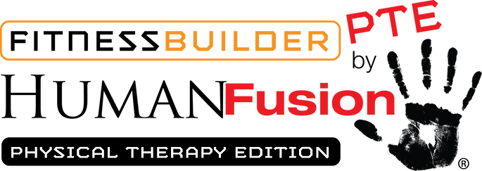 FitnessBuilderPTE by HumanFusion. Online fitness, therapy and exercise workouts.