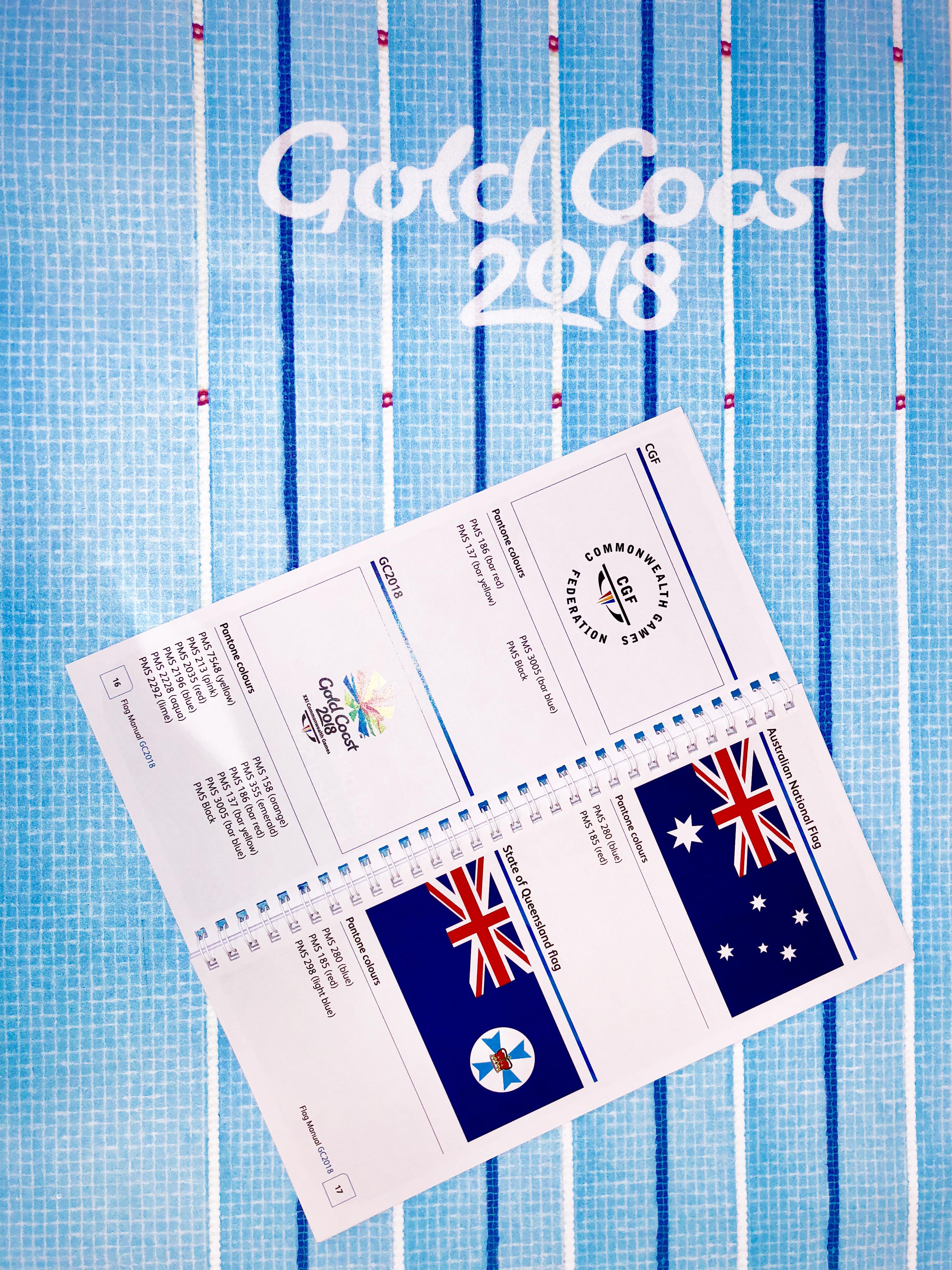 Flag manual inside