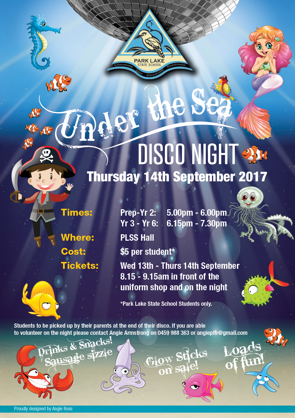 School Disco poster