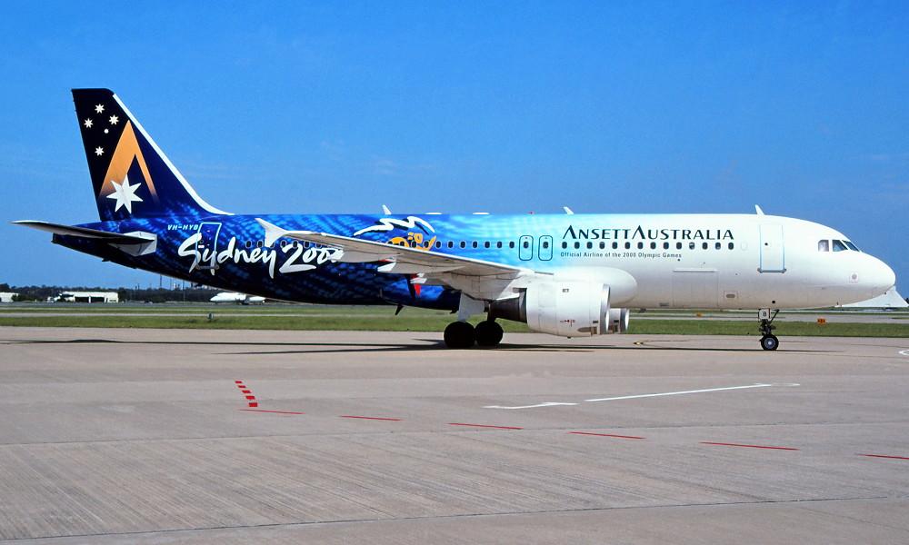 Ansett Plane art